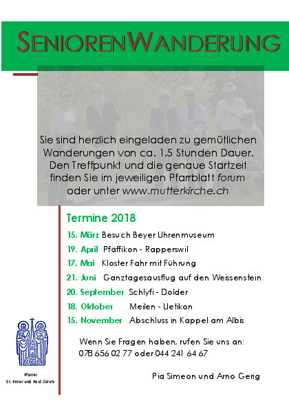 Seniorenwanderungen 2018 PP_Website